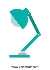 office lamp isolated icon design