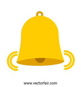 bell isolated icon design