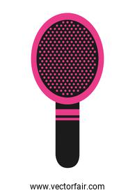 comb makeup isolated icon design