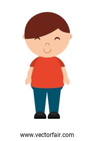 little boy  isolated icon design