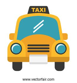 taxi service isolated icon design