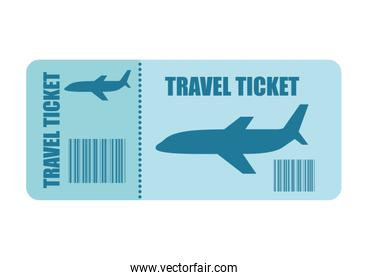 ticket fly isolated icon design