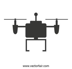 drone technology isolated icon design