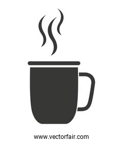 cup coffee isolated icon design
