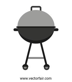 grill equipment isolated icon design