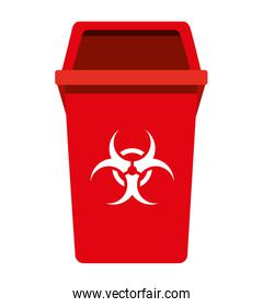 garbage waste recycle icon