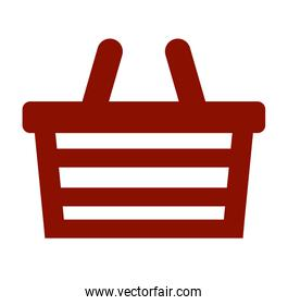 shopping basket store icon