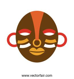 mask african culture icon