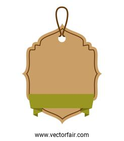 ecology tag hanging icon