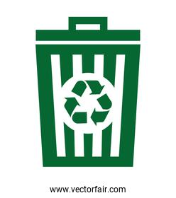 waste garbage recycle icon