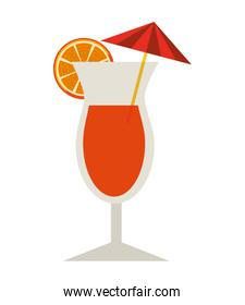 drink glass bar isolated icon