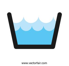water tank isolated icon