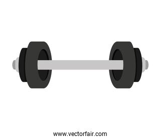 weight lifting isolated icon
