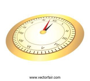 time clock numbers romans