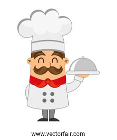 chef character man icon