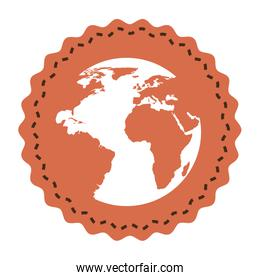 world planet earth icon