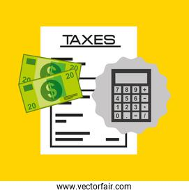 time tax payment icon