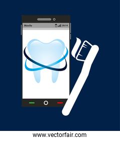 dental healthcare online icon