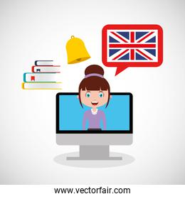 learn english online icon