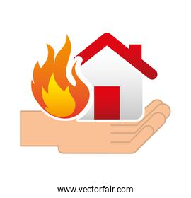 home insurance property concept icon