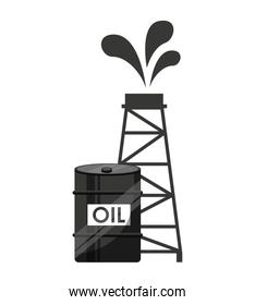 oil industry business icon