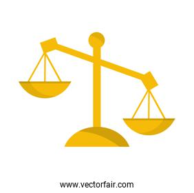 scale balance justice icon