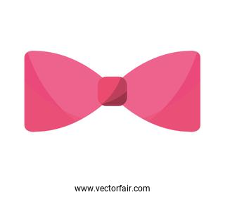 elegant cute bowtie icon