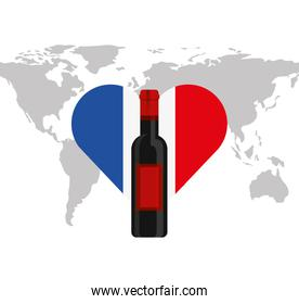 france flag culture icon