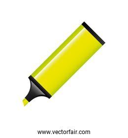 highlighter pen isolated icon