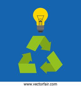 recycle arrows symbol ecology