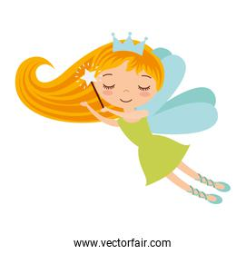cute Fairy Godmother character