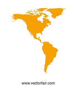 world map geography icon