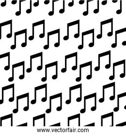music note isolated icon