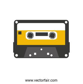 cassette old record icon isolated