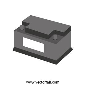 battery car isolated icon