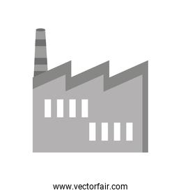 factory building isolated icon