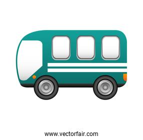 bus transport service icon