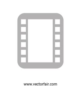 tape photographic roll icon isolated