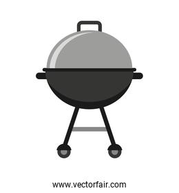 grilled device isolated icon