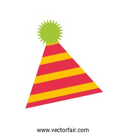 party hat isolated icon
