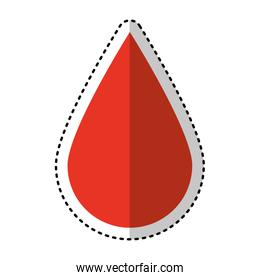 drop blood medical icon