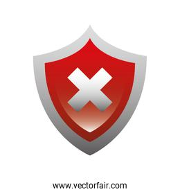 security shield isolated icon