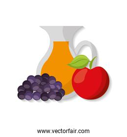 healthy food isolated icon