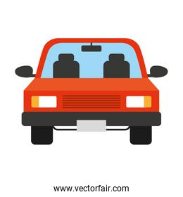 car vehicle isolated icon