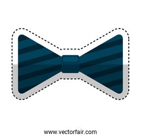 bowtie elegant isolated icon