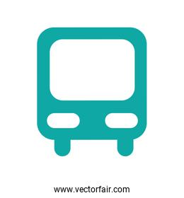 bus station isolated icon