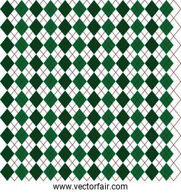 green pattern background icon