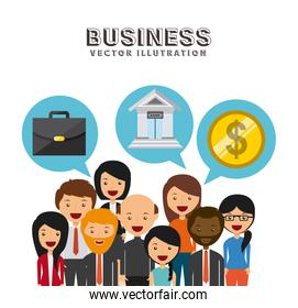 businesspeople group design