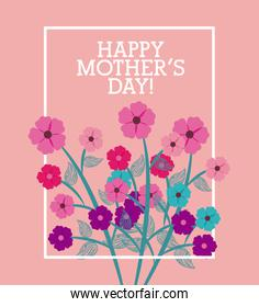 happy mothers day design
