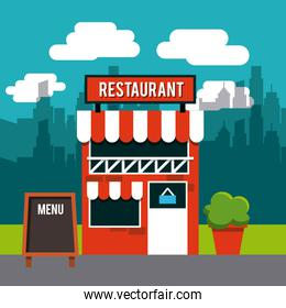 restaurant outside design